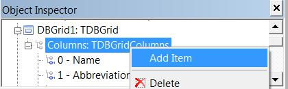 PP4S: Using a DBGrid in Lazarus