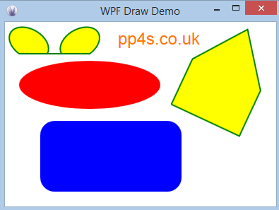 PP4S: Drawing on a WPF Canvas
